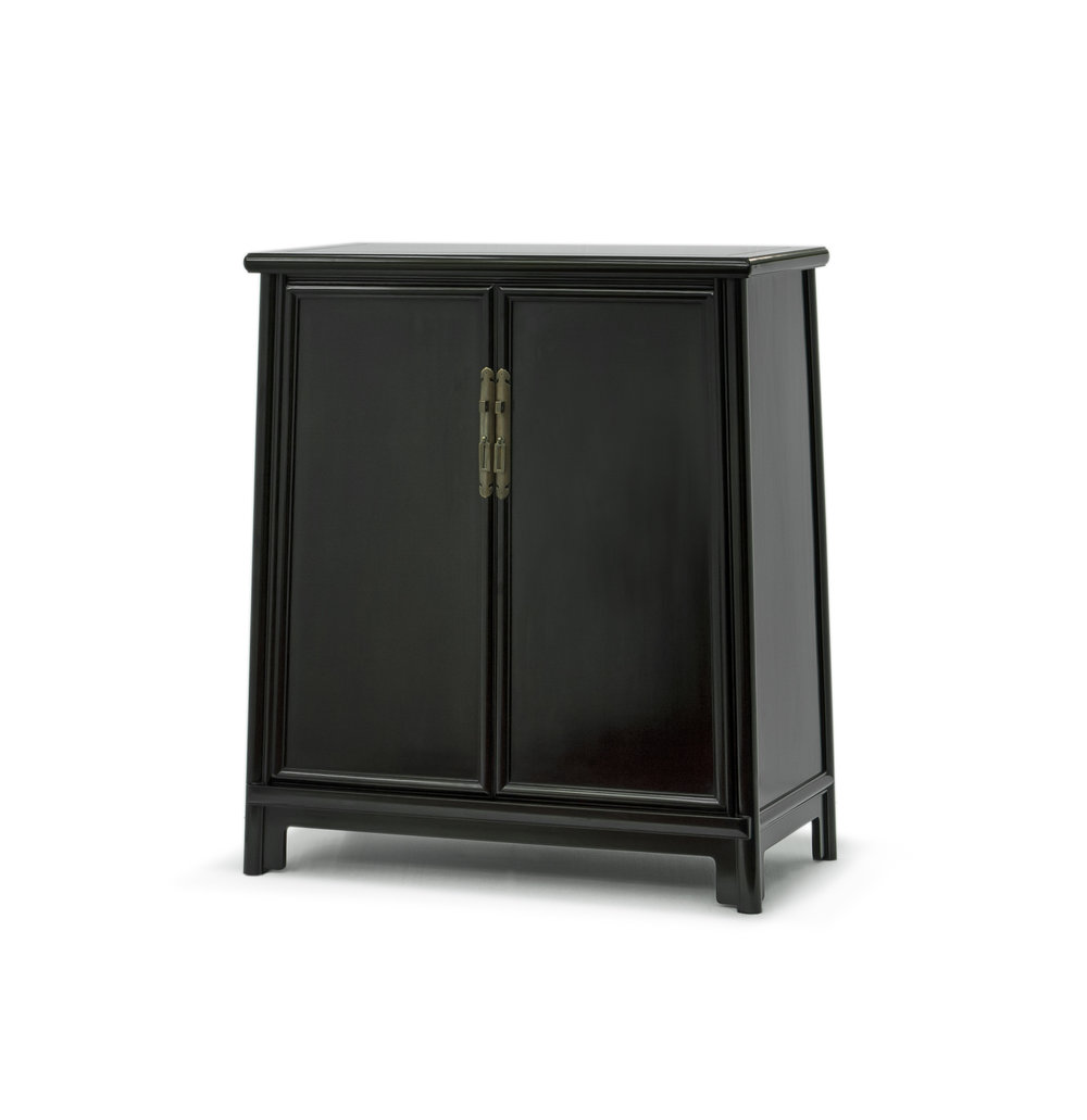 ....bespoke chinese ming style furniture : splay leg cabinet ..特别定制中式明式家具 : 面条柜....