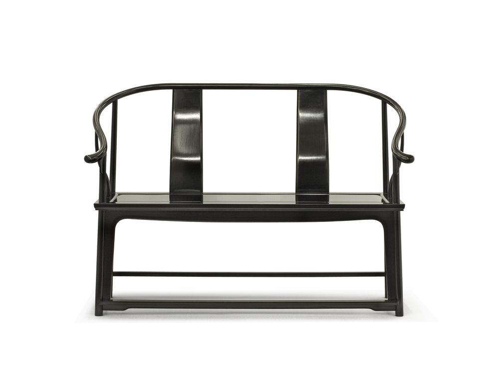 ....bespoke chinese ming style furniture : two seater armchair ..特别定制中式明式家具 : 双人椅子....