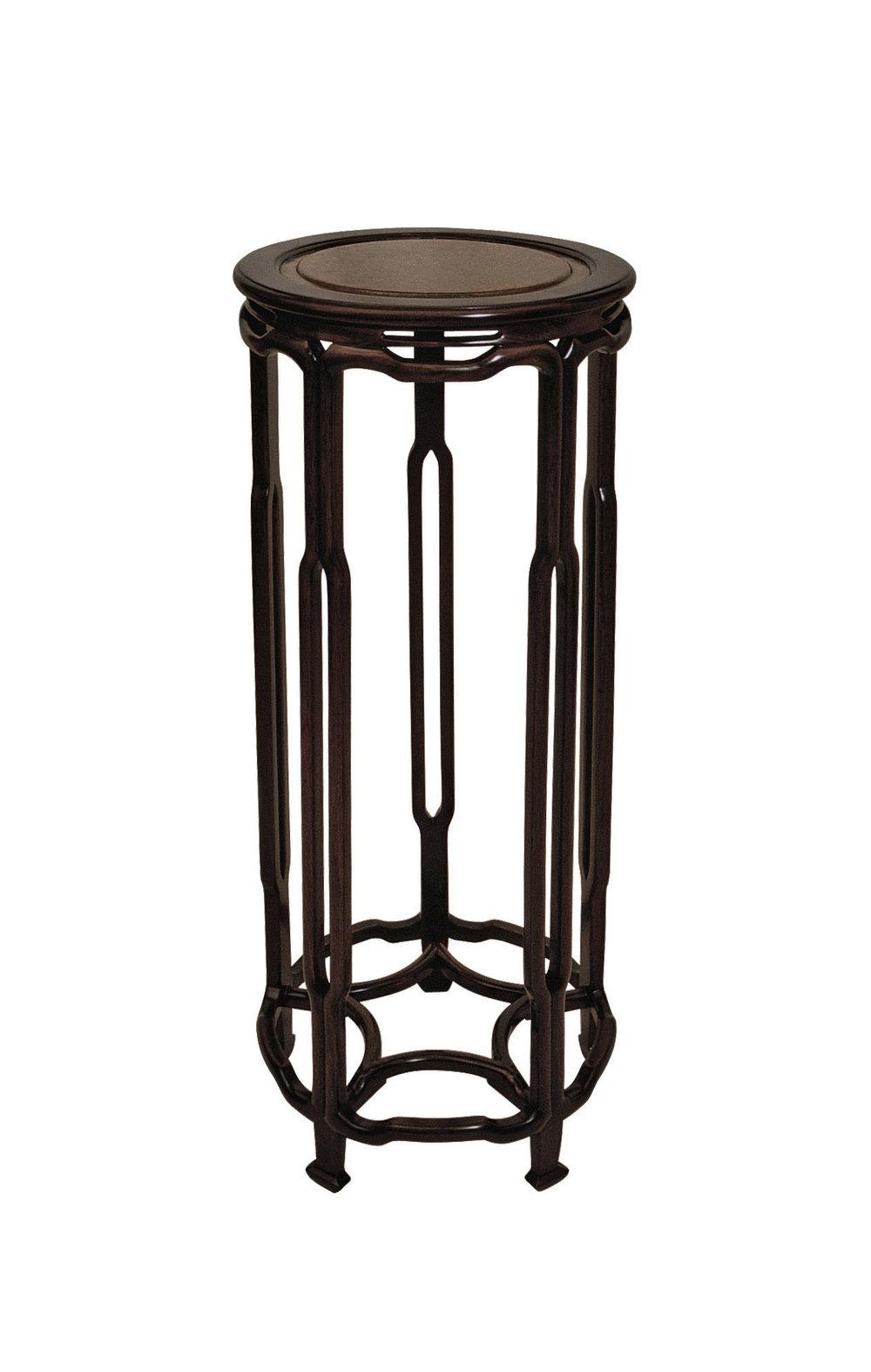 ....chinese qing style furniture : stand ..中式清式家具 : 花几....