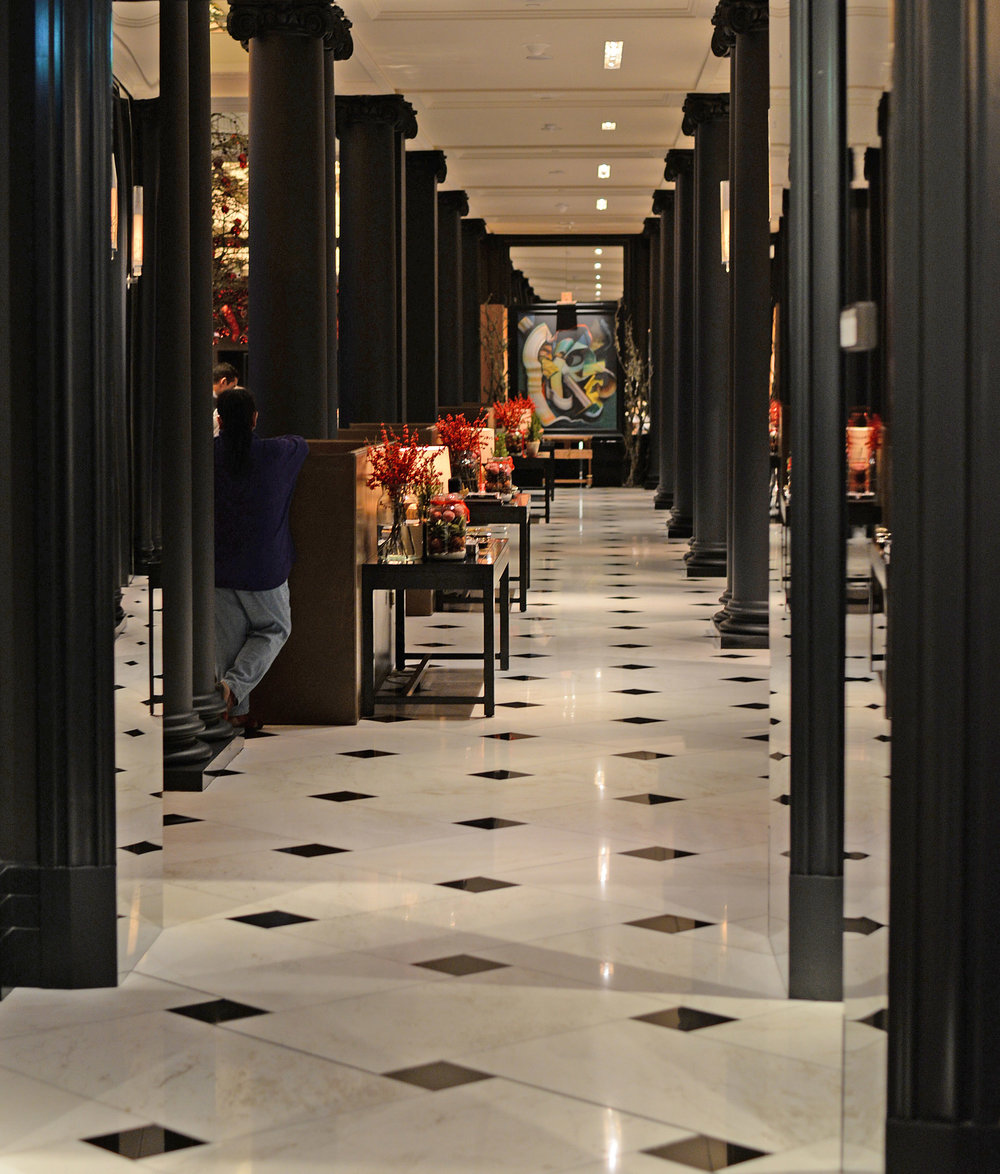 ....bespoke furniture | rosewood london : side table..特别定制家具 | 瑰丽伦敦酒店:条桌....