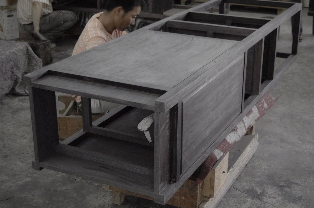 ....bespoke chinese furniture : shelf cabinet..特别定制设计中式家具 :柜架....