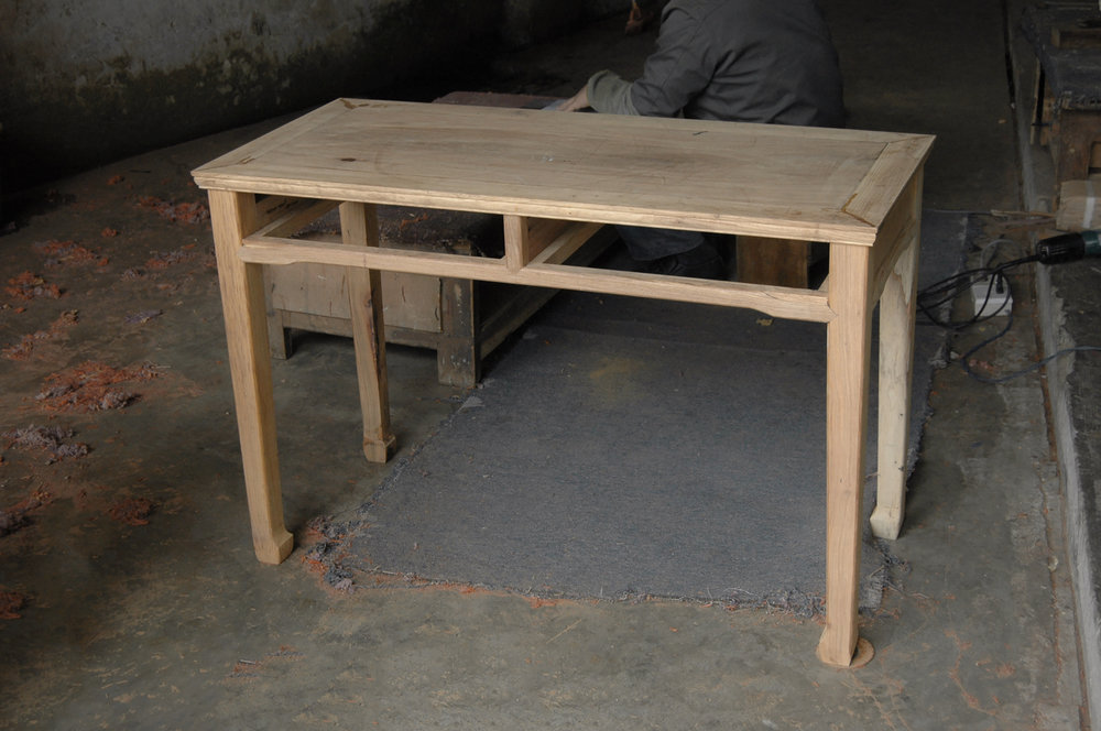 ....bespoke chinese furniture : desk..特别定制设计中式家具 :书台....