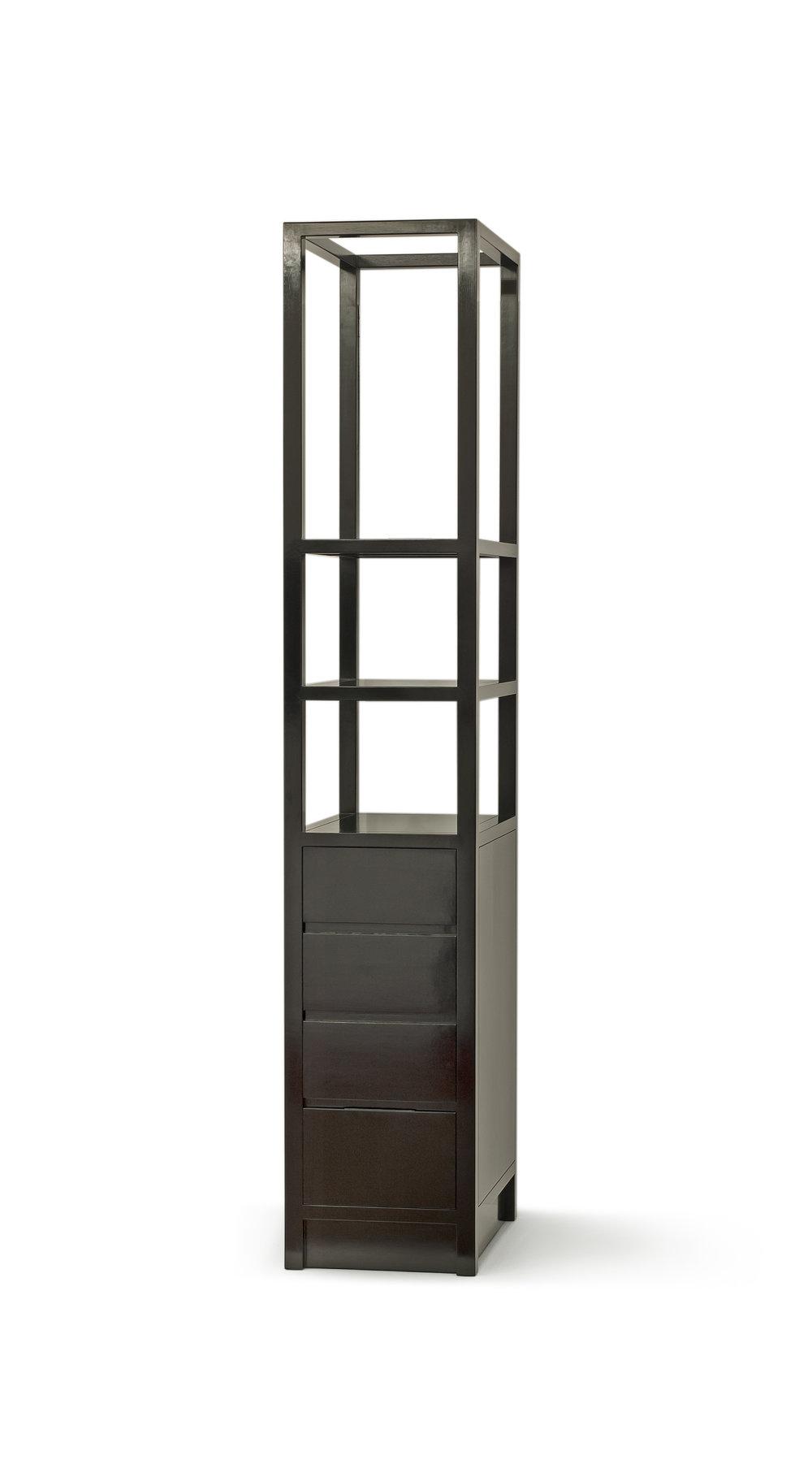 ....bespoke chinese furniture : tall shelf cabinet..特别定制设计中式家具 :高柜架....