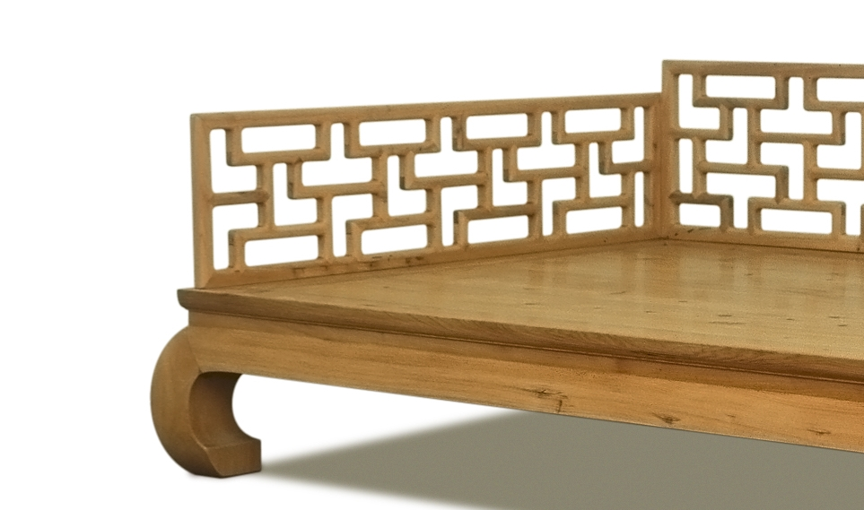 ....Chinese Ming style furniture : daybed..中式明式家具:罗汉床....