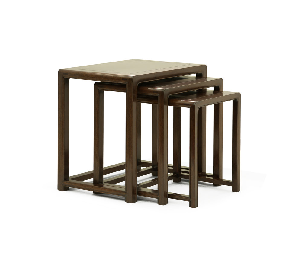 ....Bespoke Ming Style Chinese furniture : Nested Tables..特别定制明式中式家具: 层叠台....