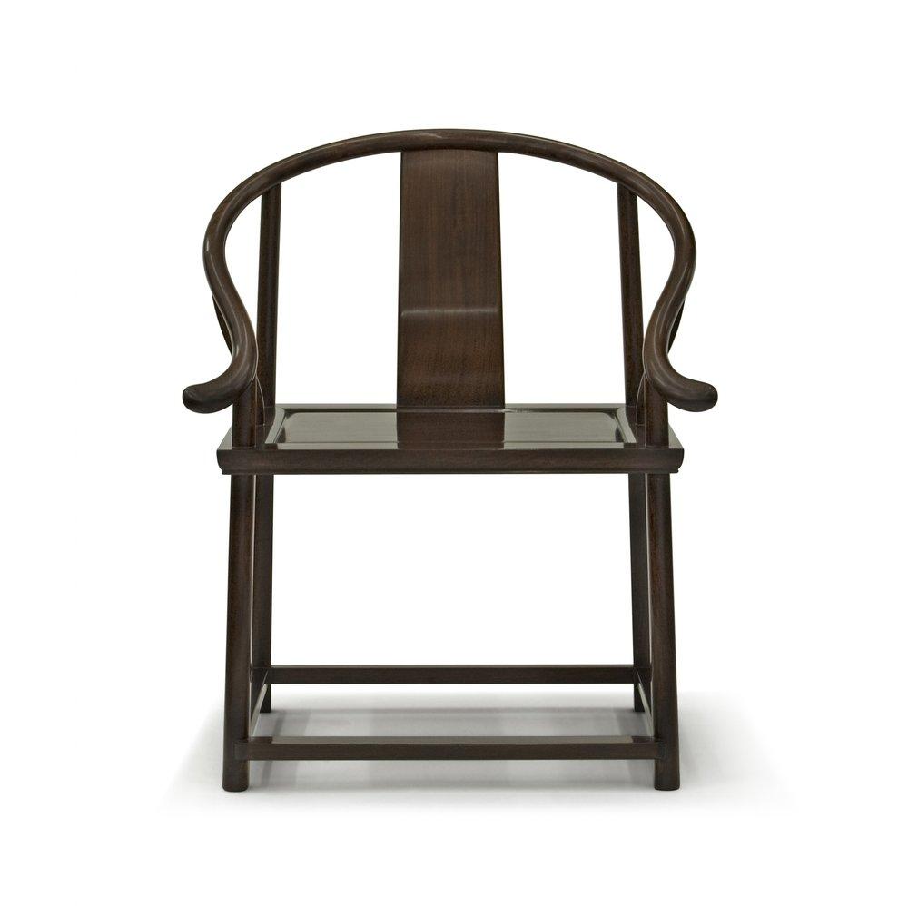 ....Bespoke Modern Chinese furniture : Horseshoe Armchair..特别定制现代中式家具: 圈椅....