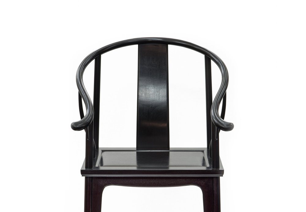 ....Bespoke Ming Style Chinese furniture : Horseshoe armchair..特别定制明式中式家具: 圈椅....