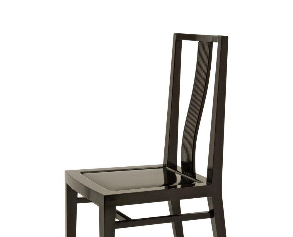 ....Bespoke Art deco style furniture : Side chair..特别定制艺术装饰风格家具: 靠背椅....