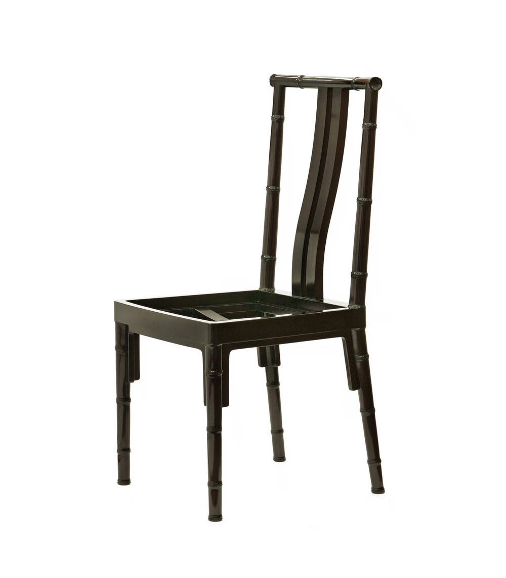 ....Bespoke Chinese furniture : Side chair..特别定制中式家具: 靠背椅....