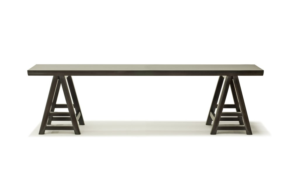 ....Ming Style Chinese furniture : Trestle Table..明式中式家具: 台架台....