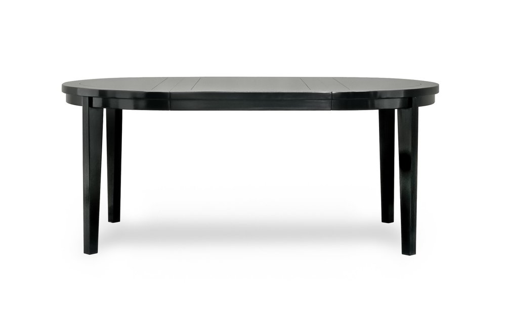 ....Art Deco Style furniture : Round Extendable Dining Table..艺术装饰风格家具: 圆拉开餐台....