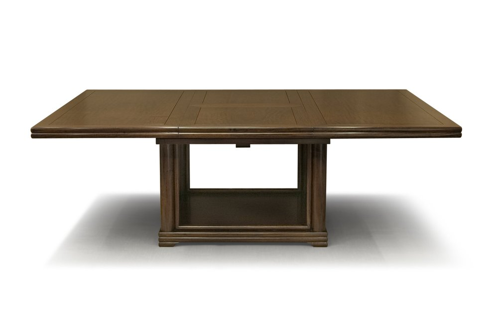 ....Ming Style Chinese furniture : Square Extendable Dining Table..明式中式家具: 方拉开餐台....