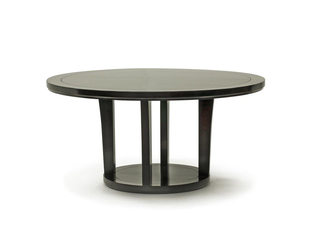 ....Bespoke Ming Style Chinese furniture : Round Dining Table..特别定制明式中式家具: 圆餐台....