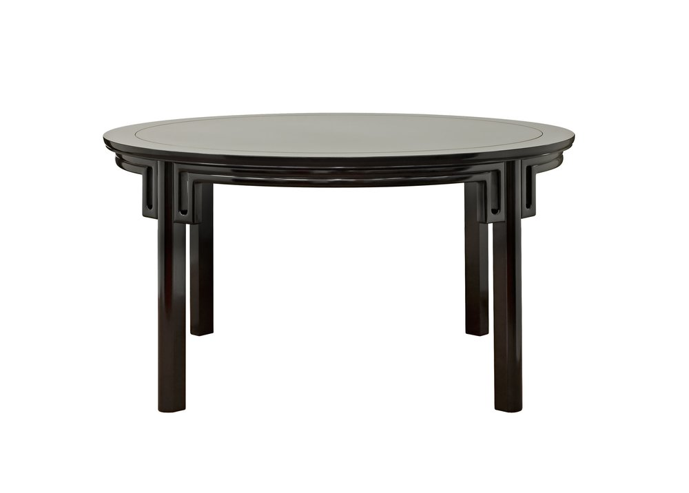 ....Ming Style Chinese furniture : Round Dining Table..明式中式家具: 圆餐台....
