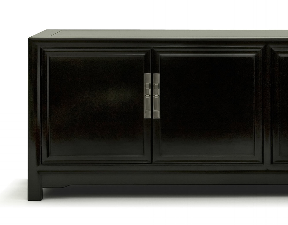 ....Custom made Modern Chinese furniture : TV Cabinet..特别定制現代中式家具:電視柜....