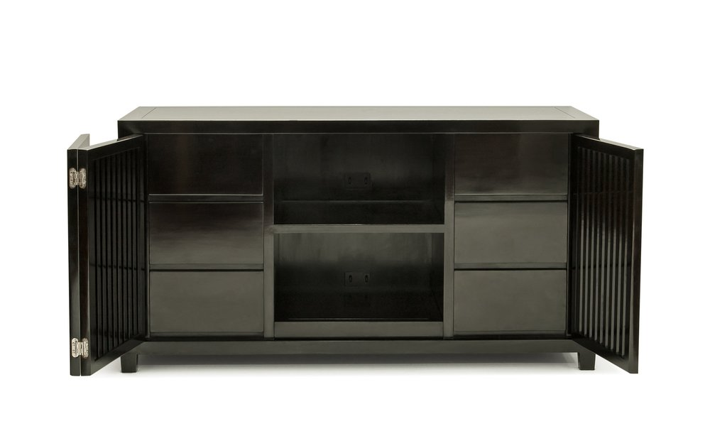 ....Custom made Modern Chinese style furniture : TV Cabinet..特别定制现代中式家具:电视柜....
