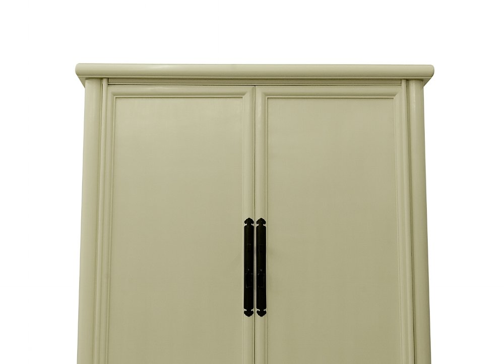 ....Custom made Ming Style Chinese furniture : Splay leg cabinet..特别定制明式中式家具:面条柜....