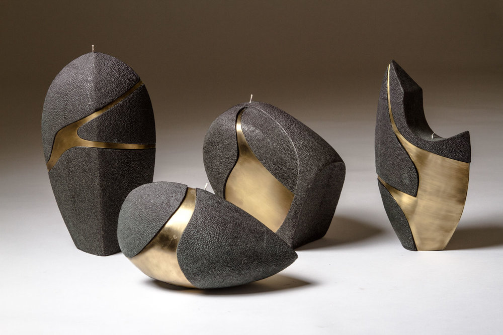 Sculptural Candle Collection - DISCOVER