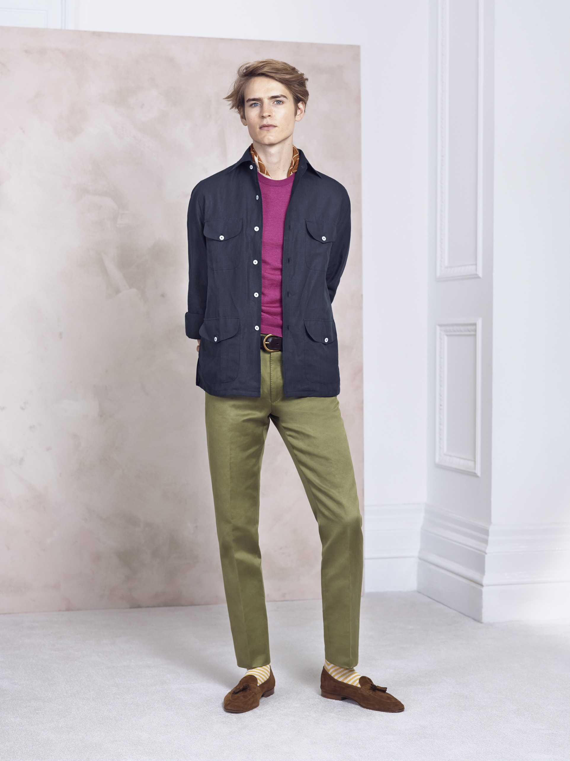 SS15 dunhill Look 14