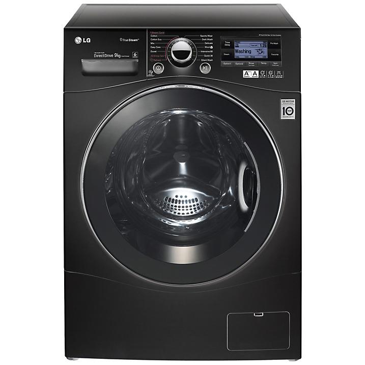 LG True Steam in Black