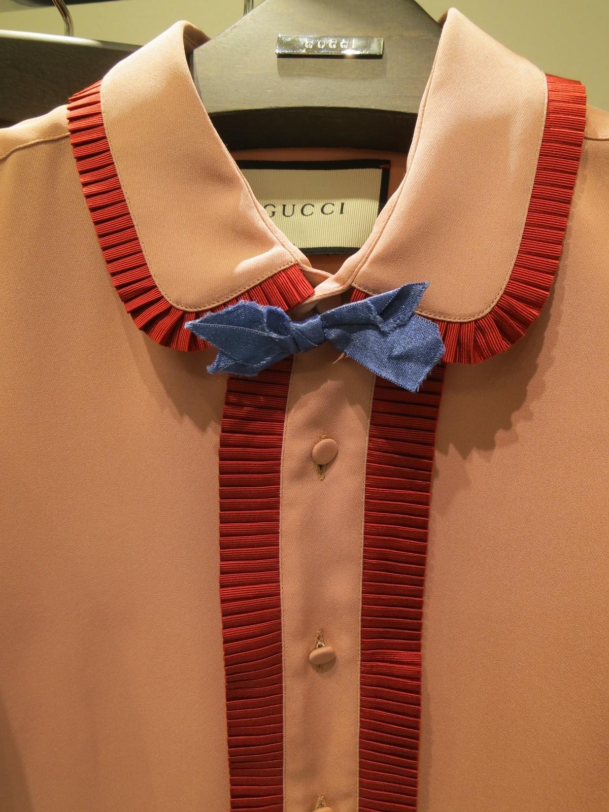 Gucci SS16 shirt