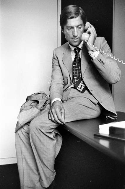 Nino Cerruti, couturier italien. 1970.     LIP-31733-004