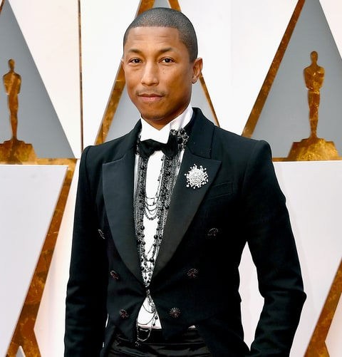 Pharrell in Chanel