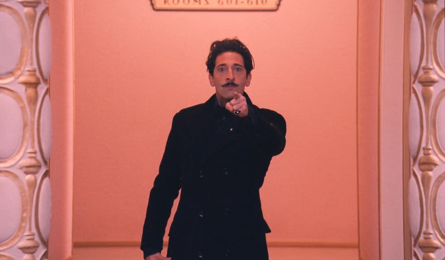 Matey in The Grand Budapest Hotel by Wes Anderson... 2014-ish