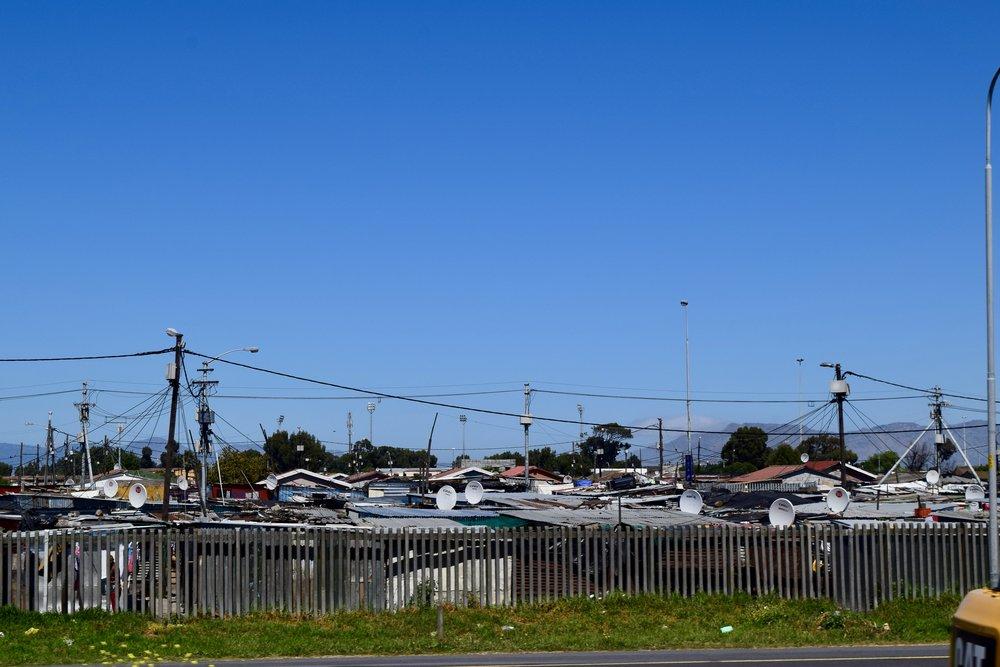 Squattercamps near Cape Town