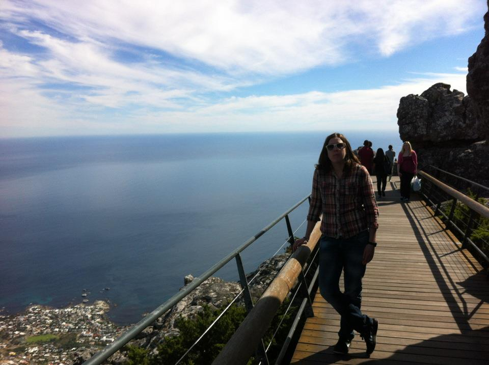 Copy of On top of Table Mountain