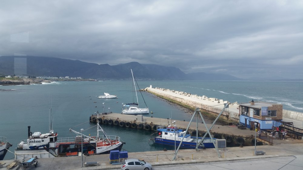 Coastal fishing towns in South Africa