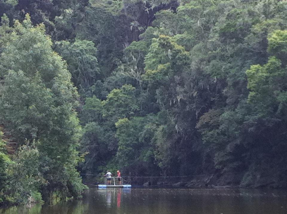Copy of Rafting in a river in Wilderness. Elephants used to roam wild here