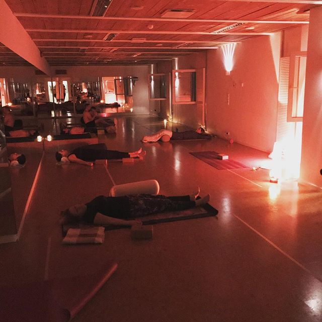 Im still in town for the next two Thursdays at 20:00 to host a beautiful relaxing yin yoga class @bikramyogatallinn Come get your chill from here!  #yin #yoga #tallinn #thursday