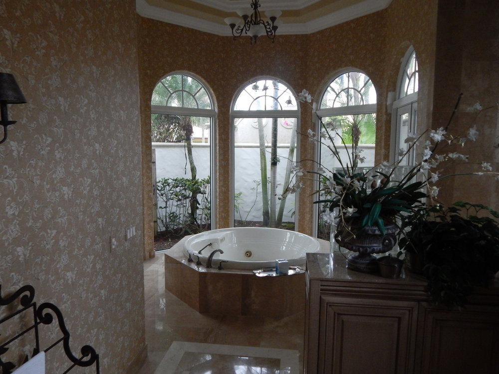 Bathroom, Before.