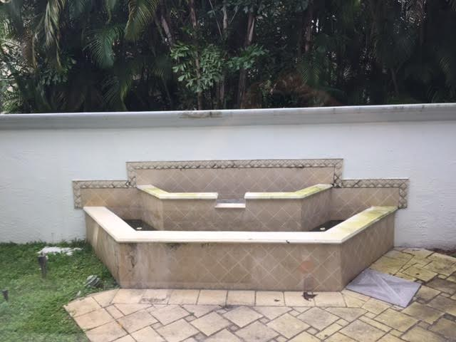 Old Existing Fountain