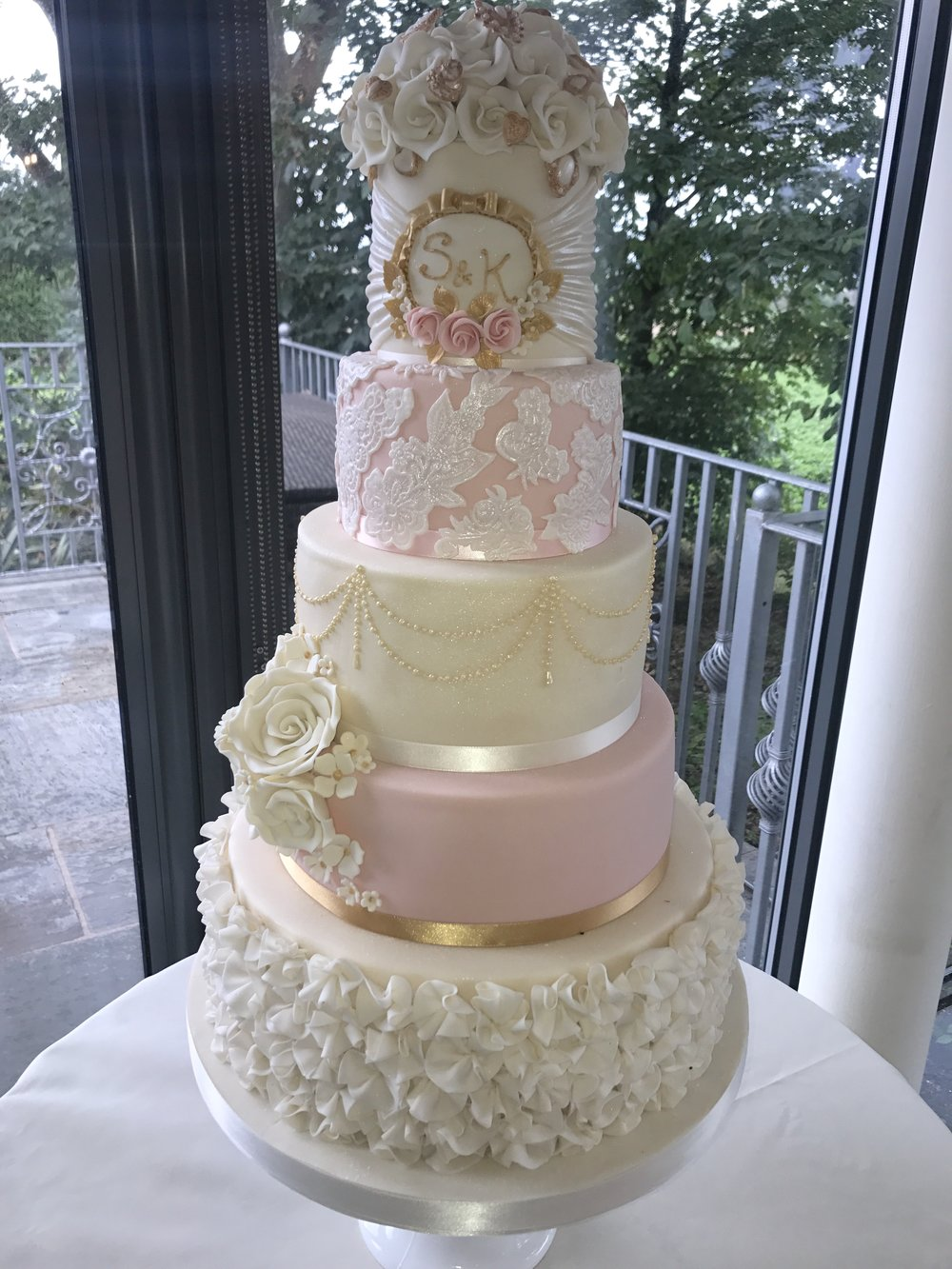 £845  Lace, Ruffles and Plaque   Enquire