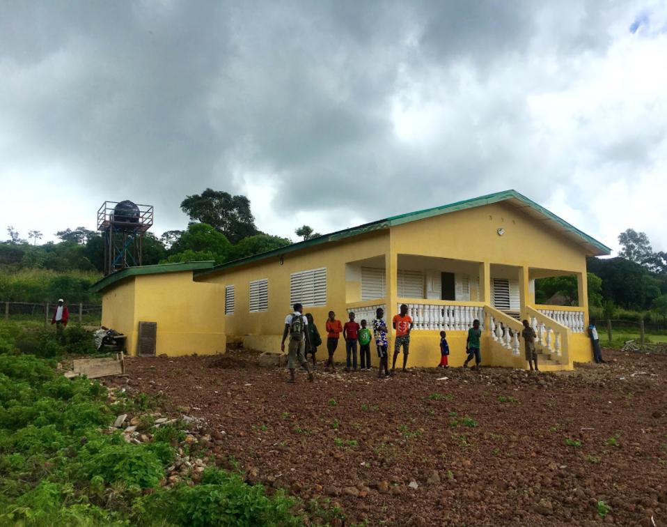 Health Post in Saran, Guinea