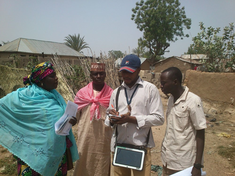 Data gathering in the field