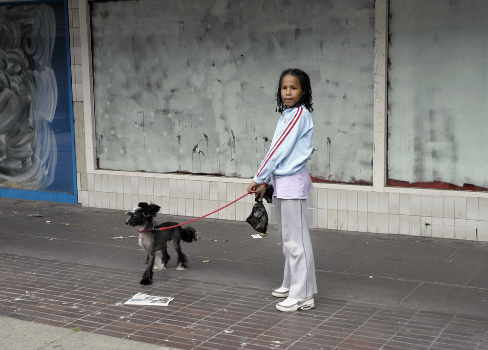 Girl with dog, London, 2005     Next gallery:  Videos about art and culture