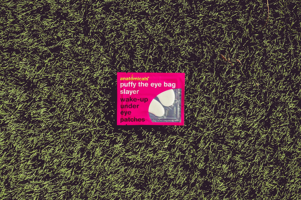 Puffy the eye bag slayer  wake-up under eye patches  are available from the Anatomicals web shop for £6.90, they come in a pack of x3 pairs.