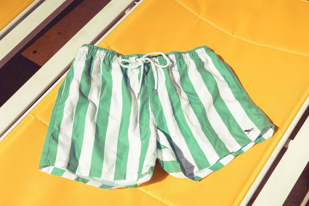 Dock and Bay Cabana Shorts Cancun Green