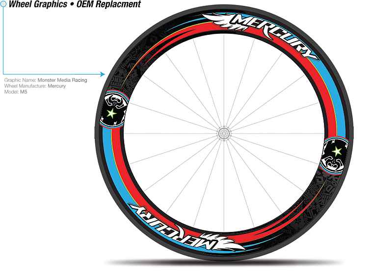 Customize your wheelSKIN & MAKE IT YOUR OWN - Creating custom wheel skins require a bit more attention than the digiSKINS or lidSKINS.You'll fill out a form with all specs and details of your custom veloSKINS and we'll get started!Price includes 2 sets of wheels graphics (font and rear wheel), 1 hour of artwork and 3 revisions.Note: Please allow 7-10 days for shipping AFTER final artwork has been approved.