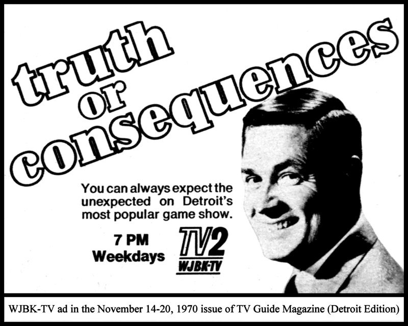 multiple image galleries 8 TV Stars bob barker truth or consequences november 1970