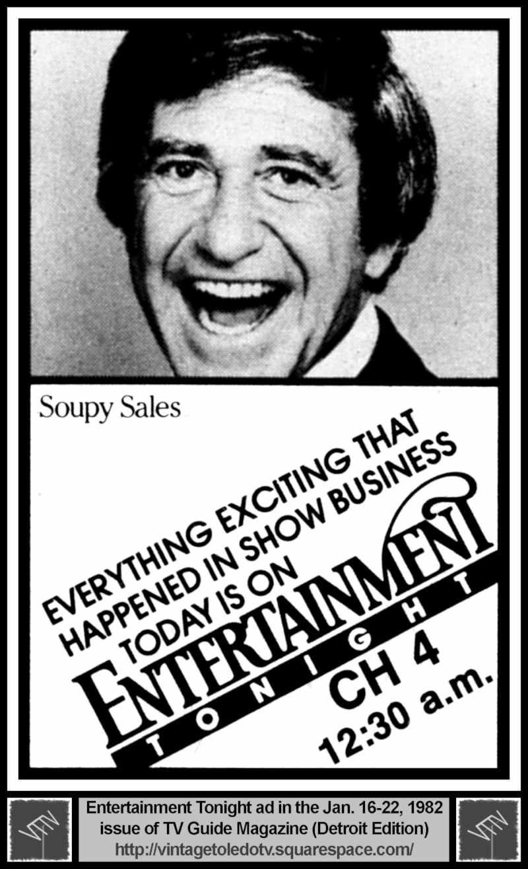 multiple image galleries 80s Stars entertainment tonight soupy sales 1 20 82