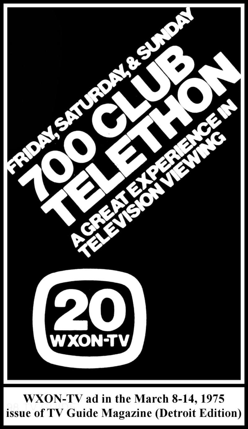 multiple image galleries La Stars 700 club telethon march 1975