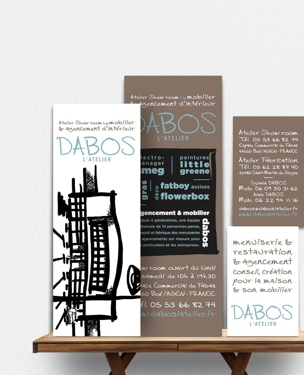 Identité menuiserie et agencement d'intérieur - Dabos l'atelier