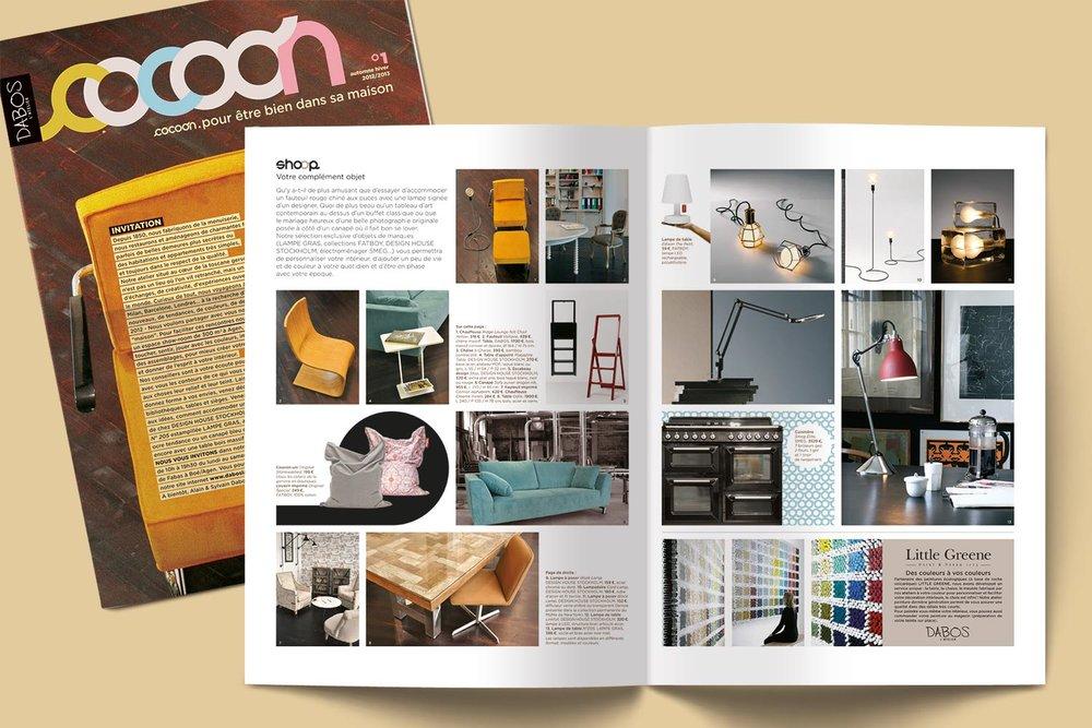 Cocoon, newspaper produits - Dabos l'atelier