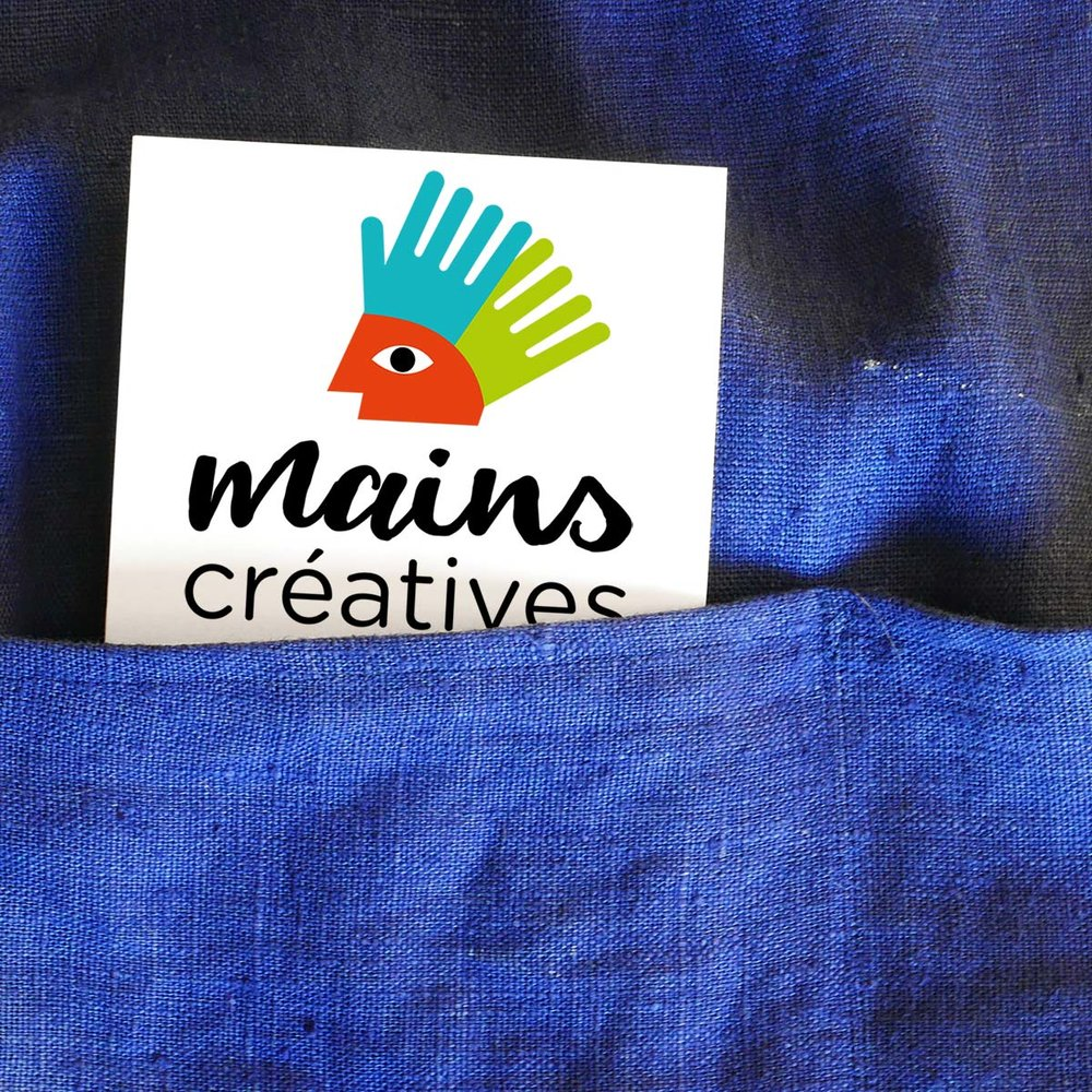 Identité loisirs créatifs - Association Mains créatives