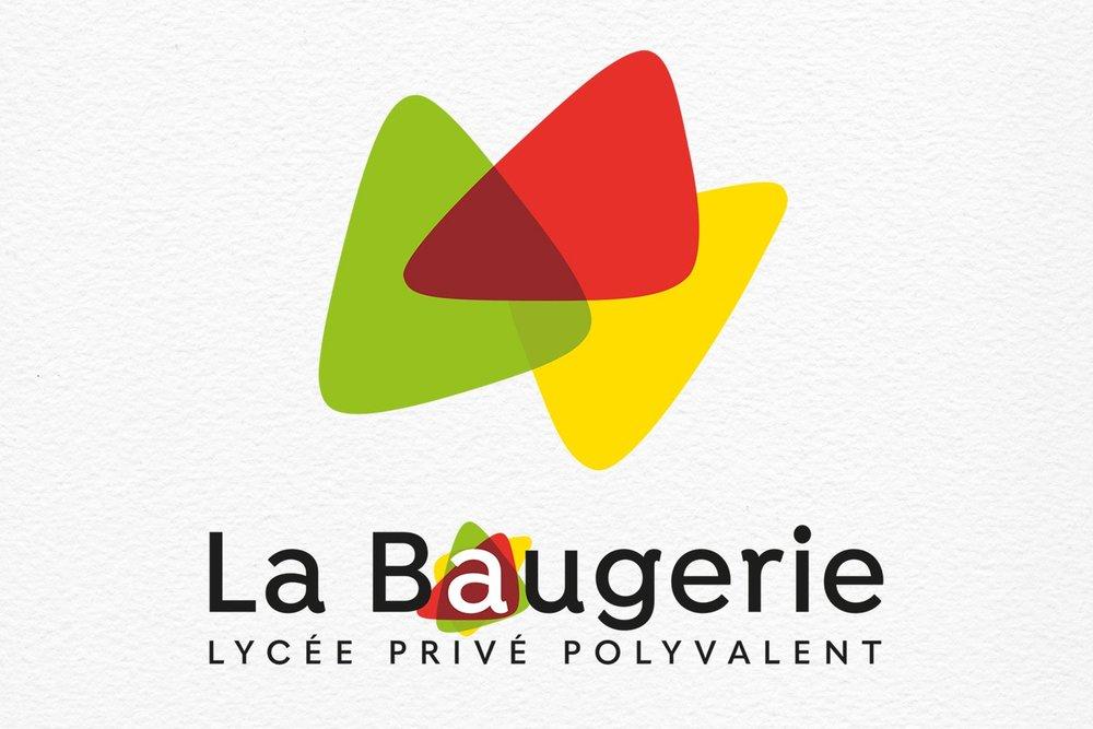 Relooking identité lycée professionel - La Baugerie