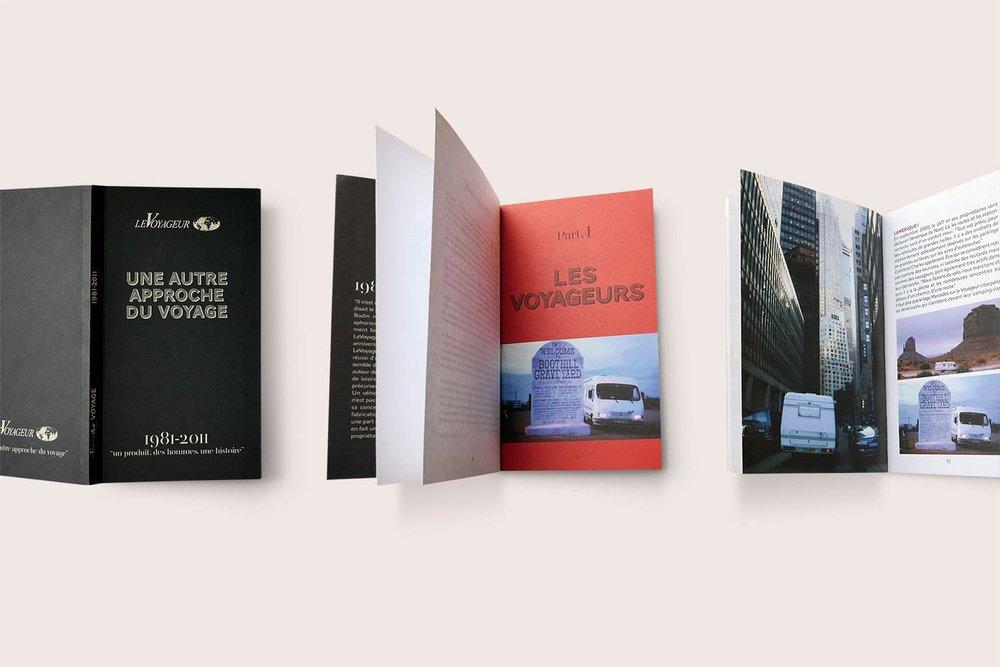 """Livre anniversaire camping-car """"LeVoyageur"""" - Pilote, 2010"""